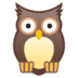 🦉 owl Emoji on Google Platform