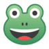 🐸 frog Emoji on Google Platform