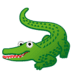 🐊 crocodile Emoji on Google Platform