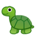 🐢 Turtle Emoji on Google Platform