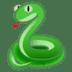 🐍 snake Emoji on Google Platform