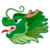 🐲 dragon face Emoji on Google Platform