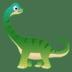 🦕 sauropod Emoji on Google Platform