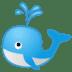 🐳 spouting whale Emoji on Google Platform