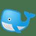 🐋 whale Emoji on Google Platform