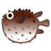 🐡 blowfish Emoji on Google Platform