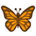 🦋 butterfly Emoji on Google Platform