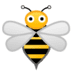🐝 honeybee Emoji on Google Platform