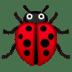🐞 Lady Beetle Emoji on Google Platform