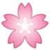 🌸 Cherry Blossom Emoji on Google Platform