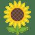 🌻 Bunga Matahari Emoji pada Platform Google