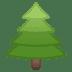 🌲 evergreen tree Emoji on Google Platform