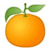 🍊 Tangerine Emoji on Google Platform