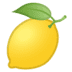 🍋 lemon Emoji on Google Platform