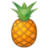 🍍 pineapple Emoji on Google Platform