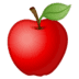 🍎 red apple Emoji on Google Platform