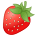 🍓 strawberry Emoji on Google Platform