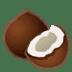 🥥 coconut Emoji on Google Platform