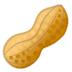 🥜 peanuts Emoji on Google Platform