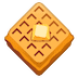🧇 Waffle Emoji on Google Platform