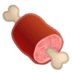 🍖 meat on bone Emoji on Google Platform
