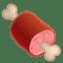 🍖 meat on bone Emoji on Google Platform