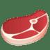 🥩 cut of meat Emoji on Google Platform