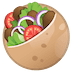 🥙 stuffed flatbread Emoji on Google Platform