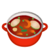 🍲 pot of food Emoji on Google Platform