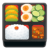 🍱 bento box Emoji on Google Platform