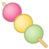 🍡 dango Emoji on Google Platform