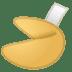 🥠 fortune cookie Emoji on Google Platform