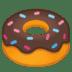 🍩 doughnut Emoji on Google Platform