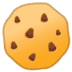 🍪 cookie Emoji on Google Platform