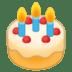 🎂 birthday cake Emoji on Google Platform