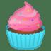 🧁 Cupcake Emoji on Google Platform