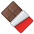 🍫 chocolate bar Emoji on Google Platform