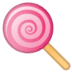 🍭 lollipop Emoji on Google Platform