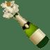 🍾 bottle with popping cork Emoji on Google Platform