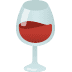 🍷 wine glass Emoji on Google Platform