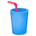 🥤 cup with straw Emoji on Google Platform