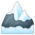 🏔️ snow-capped mountain Emoji on Google Platform