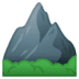 ⛰️ mountain Emoji on Google Platform