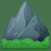 ⛰️ पर्वत गूगल प्लेटफ़ॉर्म पर इमोजी