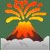 🌋 volcano Emoji on Google Platform