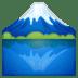 🗻 mount fuji Emoji on Google Platform