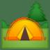 🏕️ Acampamento Emoji na Plataforma Google