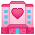 🏩 love hotel Emoji on Google Platform