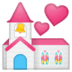 💒 wedding Emoji on Google Platform