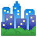 🏙️ cityscape Emoji on Google Platform